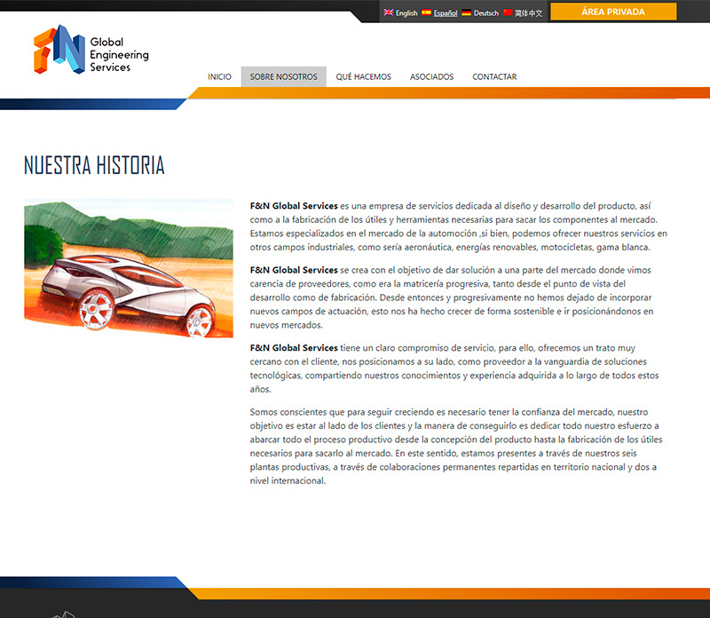 F&N Global Services Web